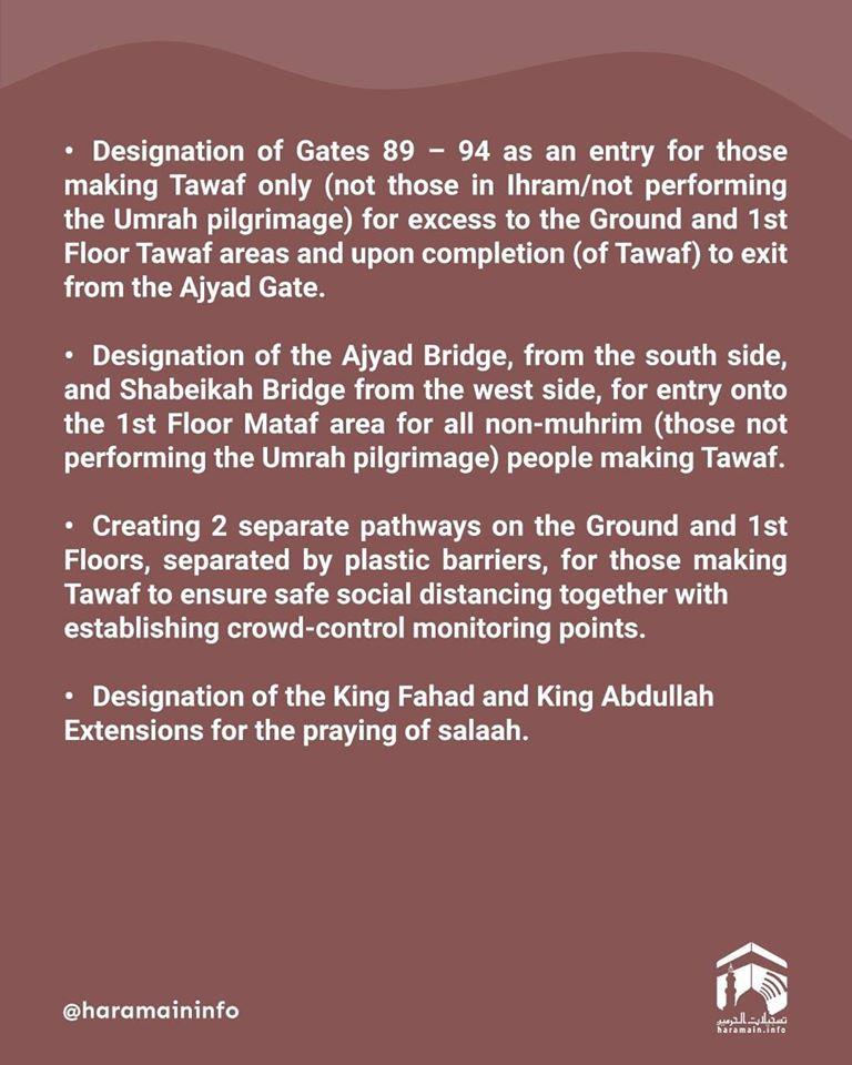 Pedoman Umum Umroh Rencana Pengendalian Jamaah di Masjidil Haram